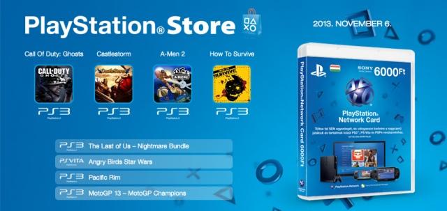 PlayStation Store - heti megjelenések - 2013. 45. hét