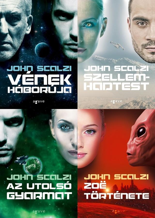 Nyerd meg John Scalzi négy regényét!