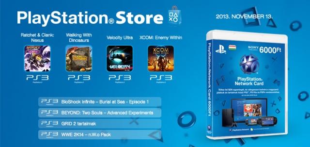 PlayStation Store - heti megjelenések - 2013. 46. hét