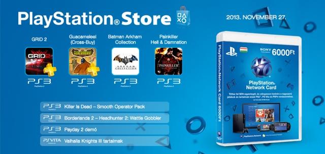 PlayStation Store - heti megjelenések - 2013. 48. hét