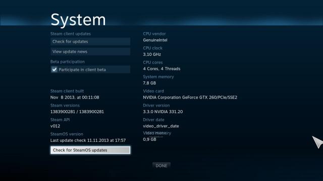 Elérhető a SteamOS bétája