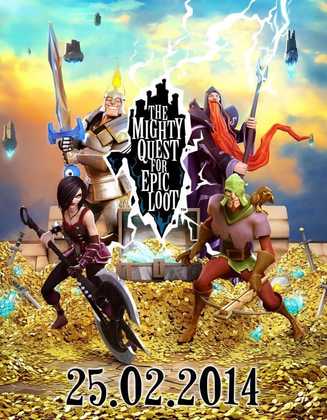 Hamarosan rajtol a The Mighty Quest for Epic Loot nyílt bétája