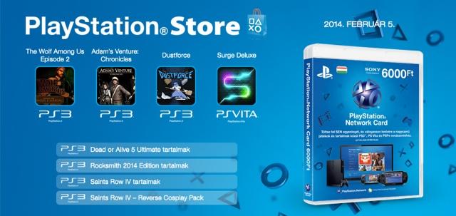 PlayStation Store - heti megjelenések - 2014. 6. hét