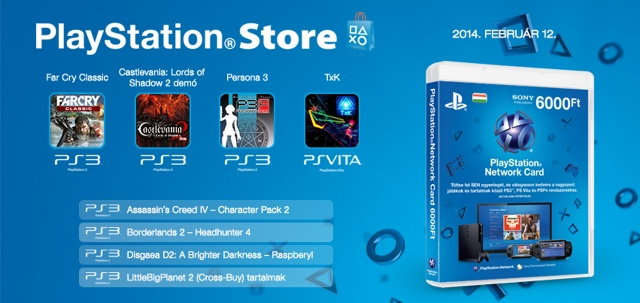 PlayStation Store - heti megjelenések - 2014. 7. hét