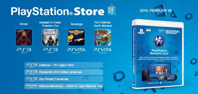 PlayStation Store - heti megjelenések - 2014. 8. hét