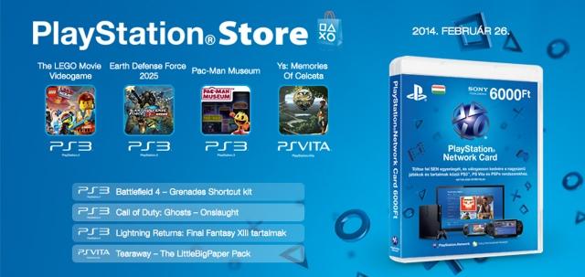 PlayStation Store - heti megjelenések - 2014. 9. hét