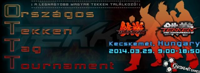 Ismét Országos Tekken Tag Tournament