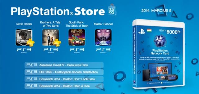 PlayStation Store - heti megjelenések - 2014. 10. hét