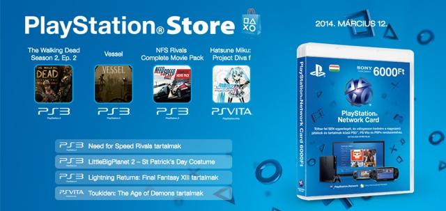 PlayStation Store - heti megjelenések - 2014. 11. hét