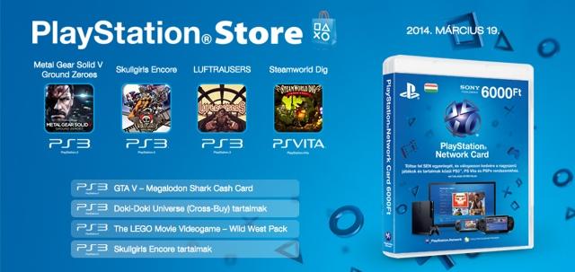 PlayStation Store - heti megjelenések - 2014. 12. hét