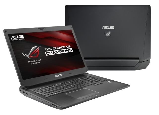 Megújulnak az ASUS ROG G750 gamer notebookjai