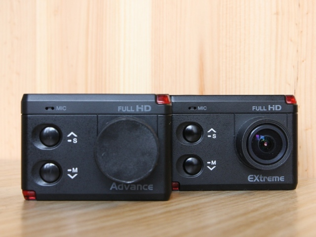 ISAW Advance és Extreme akciókamerák