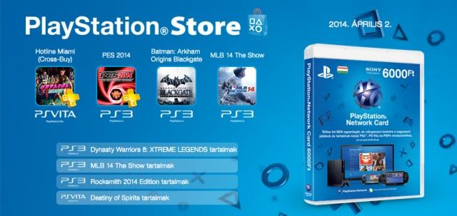 PlayStation Store - heti megjelenések - 2014. 14. hét