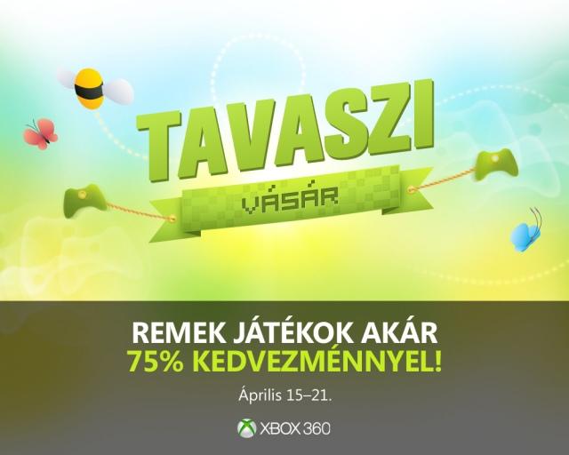 Tavaszi vásár Xbox Live tagoknak