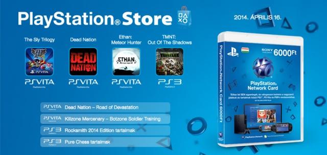 PlayStation Store - heti megjelenések - 2014. 16. hét