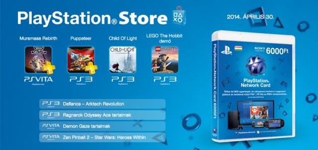 PlayStation Store - heti megjelenések - 2014. 18. hét