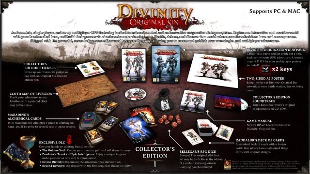 Íme, a Divinity: Original Sin gyűjtői kiadása