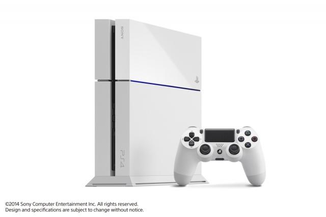 Fehér PlayStation 4 kerül a boltokba szeptemberben