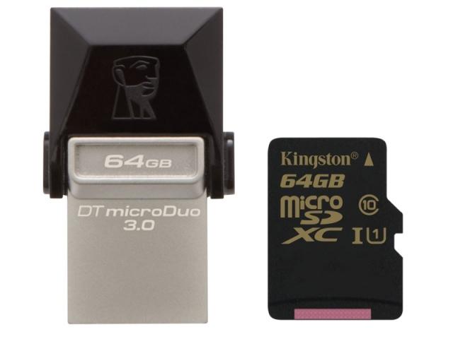 Gyorsít a Kingston: itt a DataTraveler microDuo 3.0