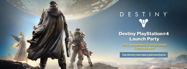 Destiny launch party lesz hétfőn