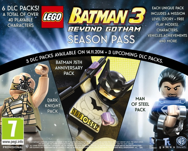 LEGO Batman 3: Beyond Gotham season pass