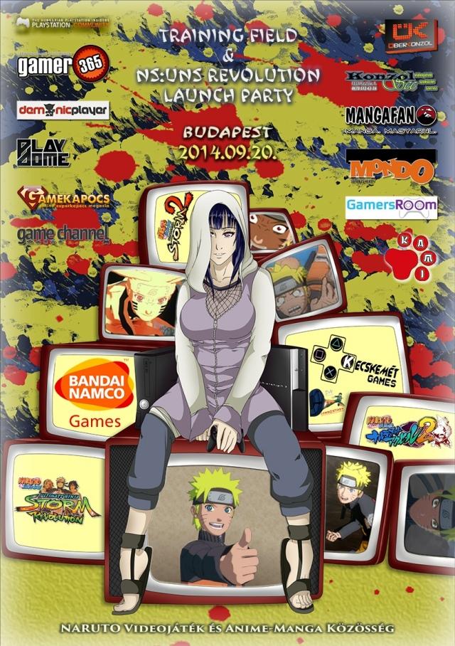 Naruto verseny Budapesten