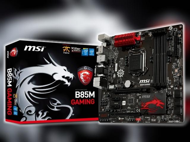 MSI B85M Gaming alaplap