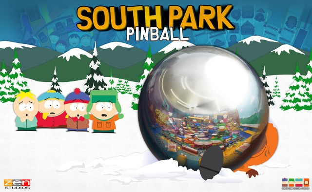 South Park flipperasztalok várhatóak a Zen Pinballhoz