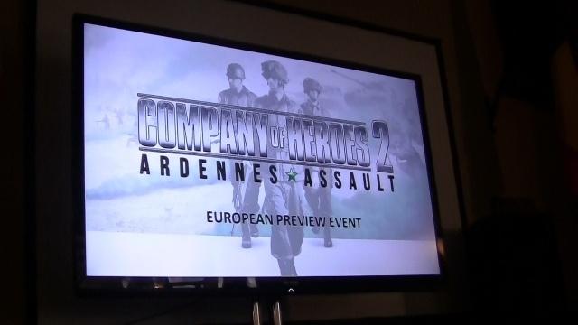 A Company of Heroes 2: Ardennes Assault bemutatóján jártunk