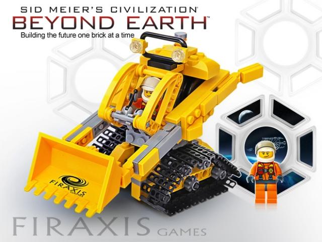 Sid Meier's Civilization: Beyond Earth LEGO-ból