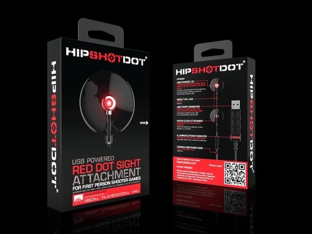 HipShotDot célkereszt LED