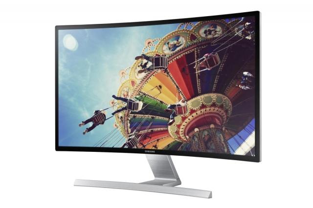 27 colos ívelt monitort mutatott be a Samsung