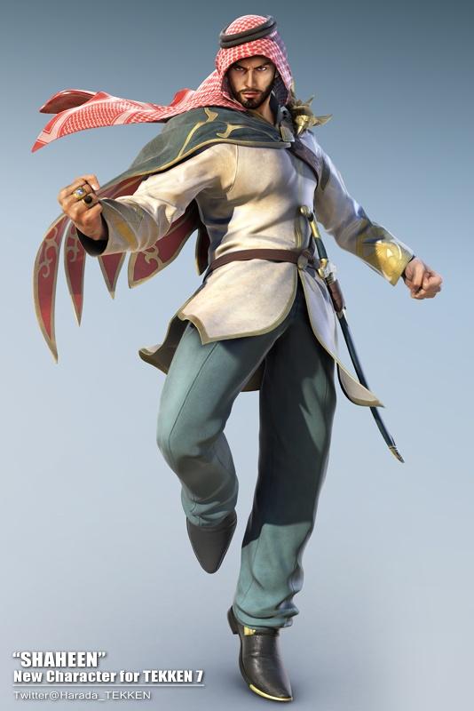 Shaheen, a Tekken 7 új karaktere