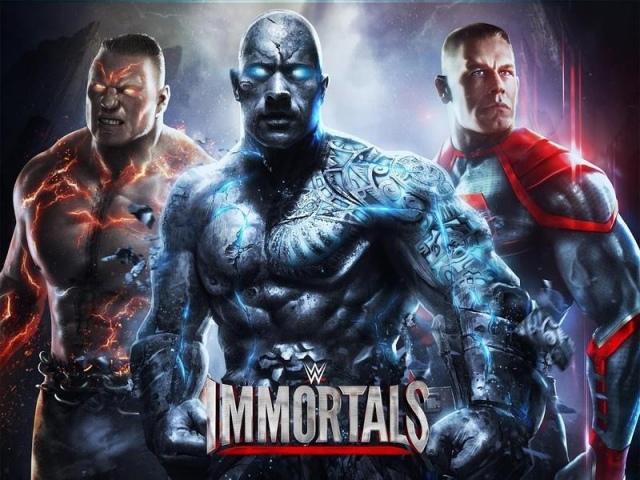 WWE Immortals iOS-re és Androidra