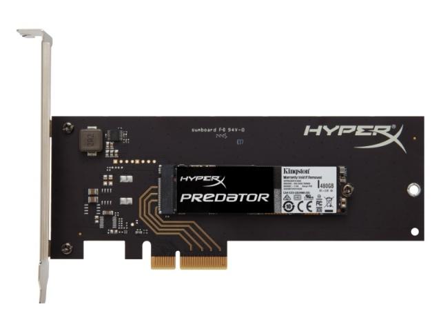PCIe csatolójú HyperX Predator SSD-k érkeznek