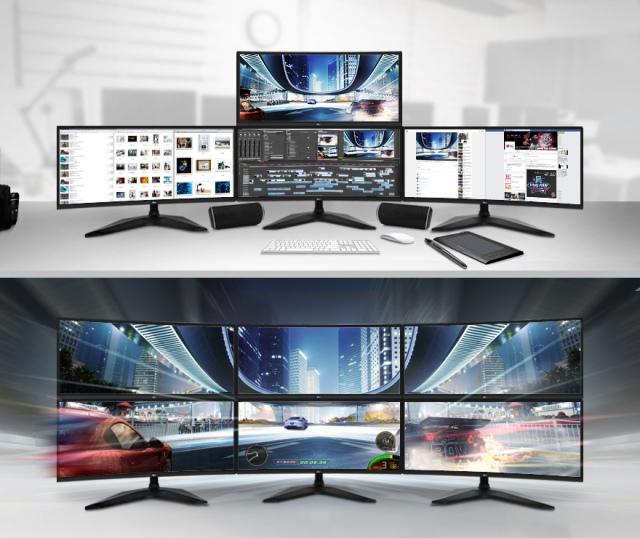 Játszanál hat ilyen monitoron?