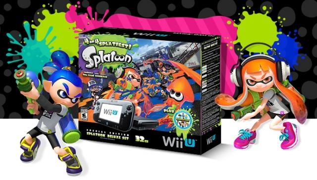 Wii U gépcsomagot kap a Splatoon