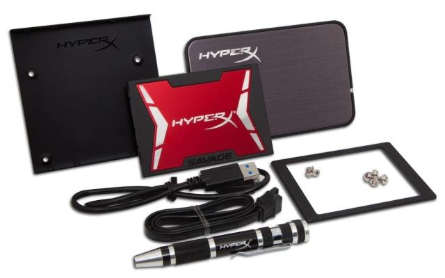 HyperX Savage SSD akár 560 MB/s olvasási sebességgel