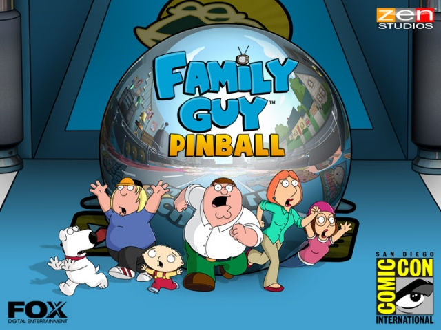 Flipperasztalt kap a Family Guy is