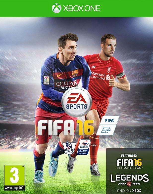 FIFA 16 borítótervek és hivatalos gépigény