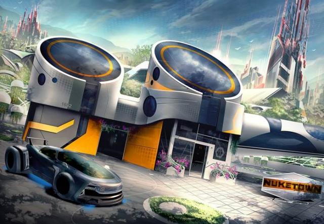 Nuketown a Call of Duty: Black Ops III-ban