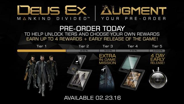 Megjelenési dátumot kapott a Deus Ex: Mankind Divided
