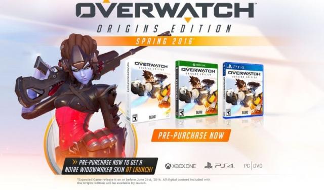 Tavasszal érkezik az Overwatch Origins Edition