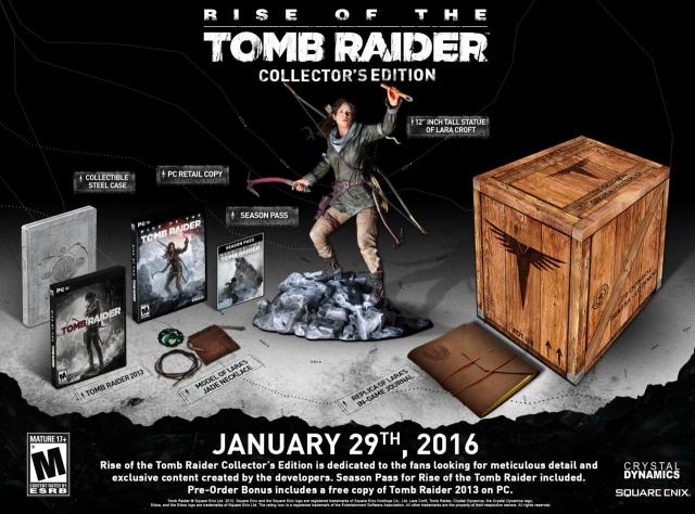 Hivatalos: január végén jön PC-re a Rise of the Tomb Raider