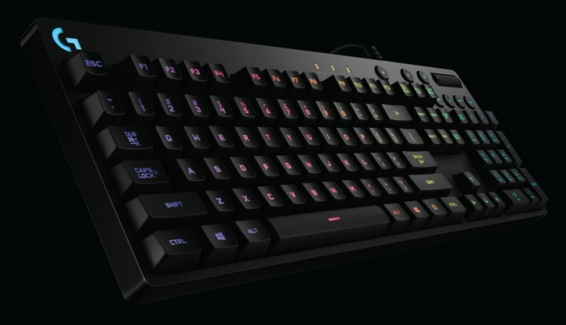Logitech G810 Orion Spectrum mechanikus gamer billentyűzet