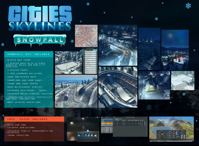 Megjelent a Cities: Skylines téli kiegészítője