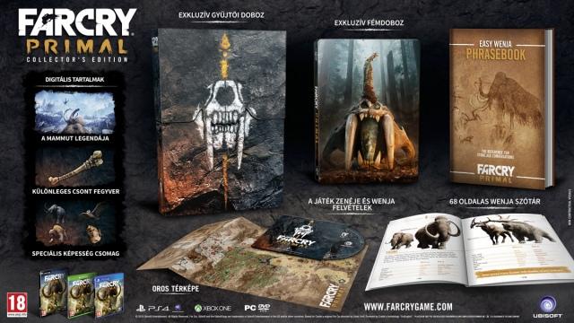 Normál helyett gyűjtői kiadást kapnak a Far Cry Primal PC-s előrendelői