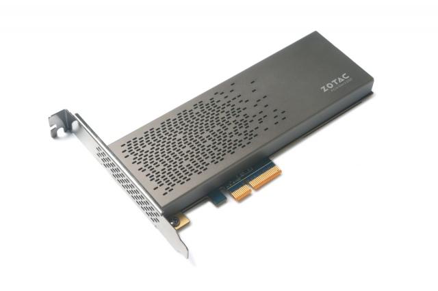 PCI Express felületű SSD a ZOTACtől