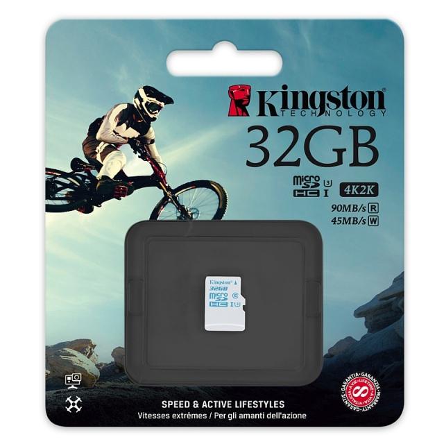 Akciókamerákhoz készült az új Kingston memóriakártya