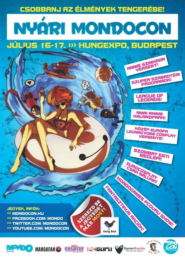 Programajánló: hétvégén ismét nyári MondoCon